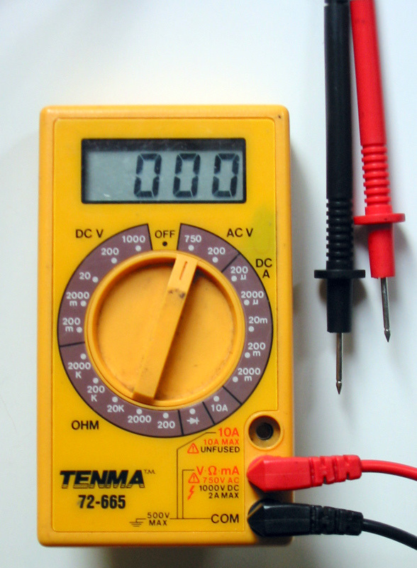 Voltage Meter or Voltometer
